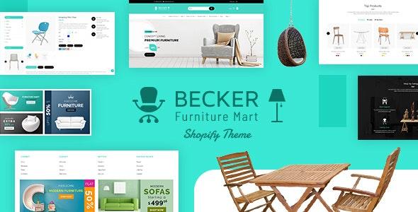 Becker | Furniture shop, Electronics Shopify Theme - Shopping Shopify