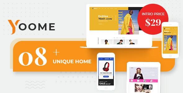 Yoome - Modern WooCommerce WordPress Theme - WooCommerce eCommerce