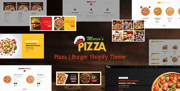 Marios - Food Store Shopify Theme