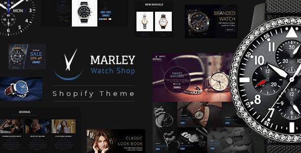 Marley | Luxury Watch Shopify Theme - Technology Shopify