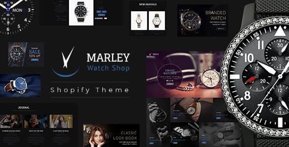 Marley   Luxury Watch Shopify Theme