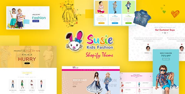 Susie | Children Shopify Theme