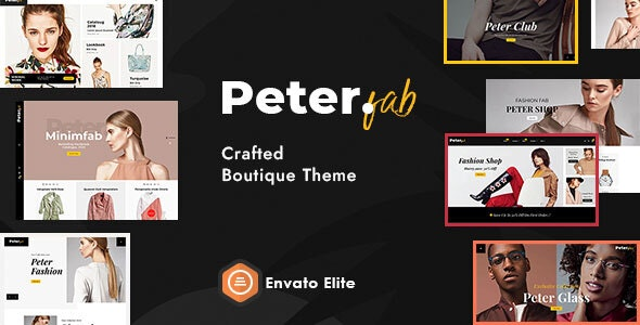 Peter - eCommerce Shopify Theme for Boutique Shop - Fashion Shopify