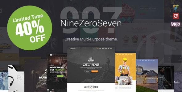 907 - Responsive Multi-Purpose WordPress Theme - Portfolio Creative