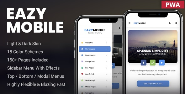 Eazy Mobile - Mobile Site Templates