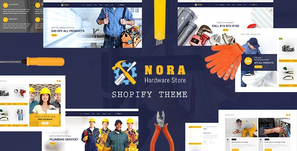Nora - Hardware Store, Plumbing Shopify Theme - Miscellaneous Shopify