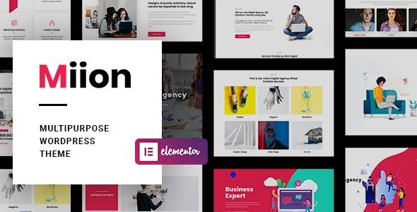 Miion | Multi-Purpose WordPress Theme - Business Corporate
