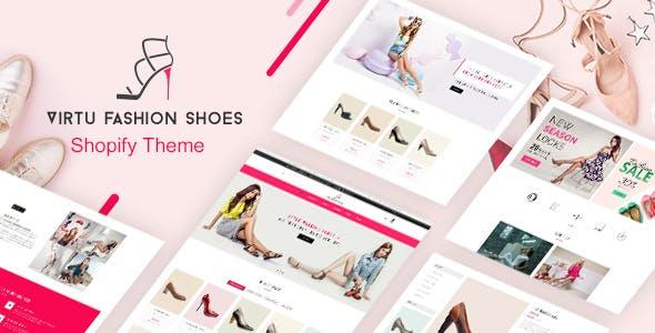 Virtu - Sandals, Shoes Store Shopify Theme
