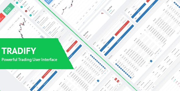 Tradify - Responsive Crypto and Stock Trading User Interface