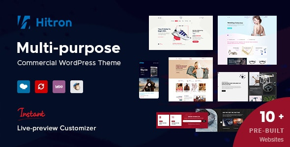 Hitron - Creative Multipurpose WordPress Theme - WooCommerce eCommerce
