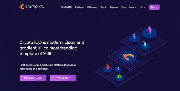 cryptocurrency web design