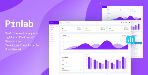 PinLab - Bootstrap Admin Dashboard by QuixKit