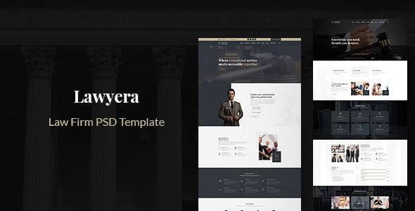 Herlem - Law Firm PSD Template - PSD Templates