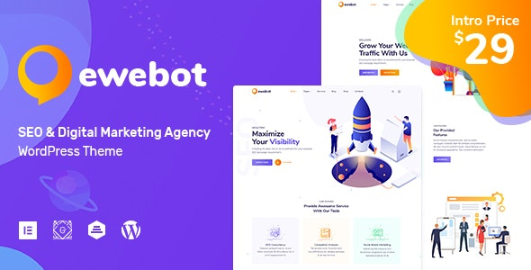 Ewebot - SEO and Digital Marketing Agency - Marketing Corporate