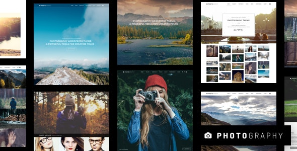 Photography WordPress - Photography Creative