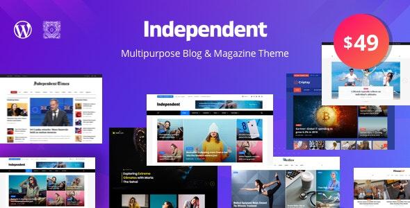 Independent - Multipurpose Blog & Magazine Theme - News / Editorial Blog / Magazine