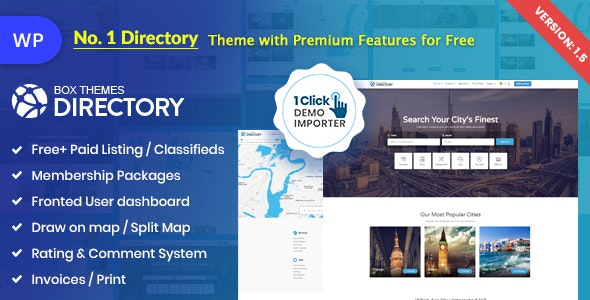 Directory Multi Purpose Wordpress Theme By Chimpstudio
