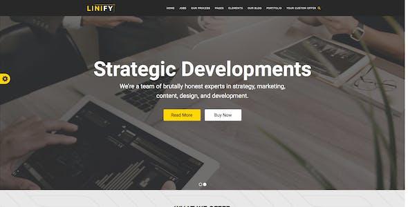 Linify - Multipurpose Corporate WordPress Theme