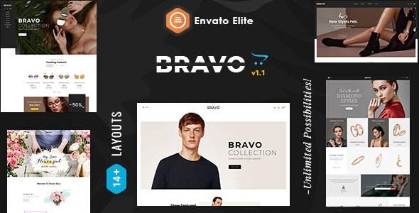 Bravo 2.0 - OpenCart Multi-Purpose Responsive Theme