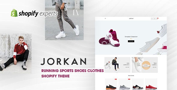 Jorkan - Running Sports Shoes Clothes Shopify Theme - Shopify eCommerce