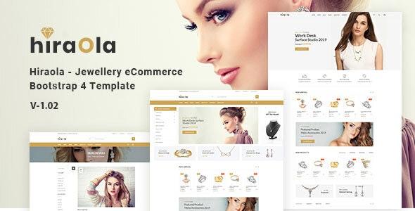 Hiraola - Jewelry Store HTML Template - Fashion Retail
