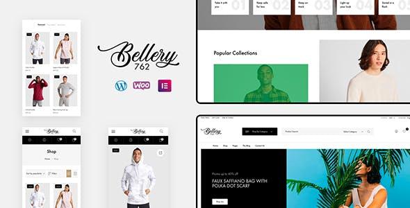 Bellery - Modern & Minimal WooCommerce Theme