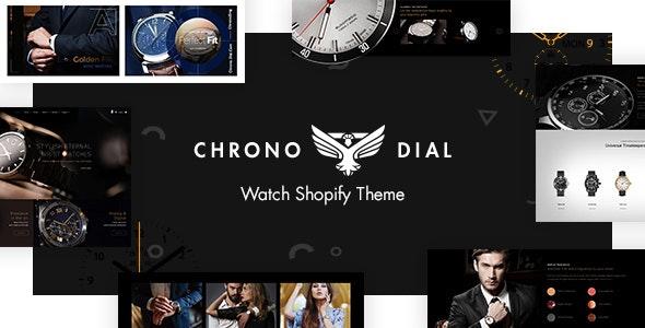 Chrono Dial - Watch Shopify Theme - Technology Shopify