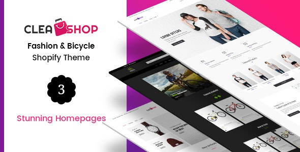 Clean Shop - Minimal Shopify Theme - Technology Shopify