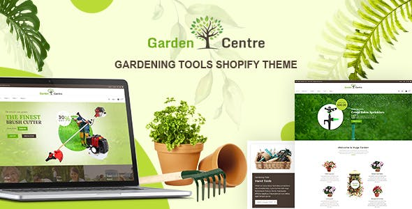 Garden Plants   Gardening Store, Landscaping Service Shopify Theme
