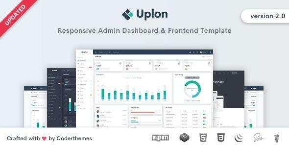 Uplon - Admin & Dashboard Template - Admin Templates Site Templates