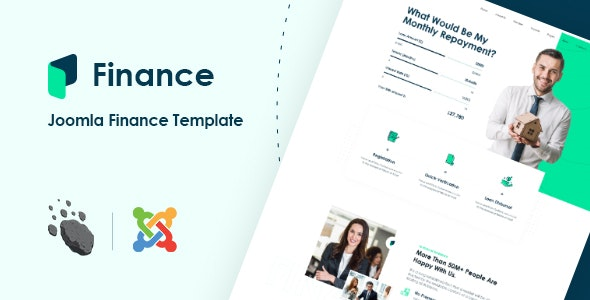 JD Finance - Finance & Business Consulting Joomla Template - Joomla CMS Themes