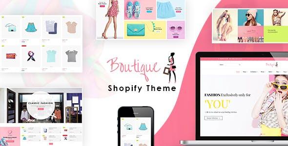 Boutique - Shopify Fashion