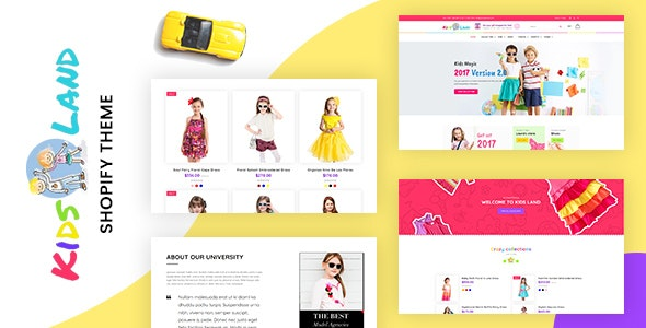 Kids Store | Baby Shop Shopify Theme - Entertainment Shopify