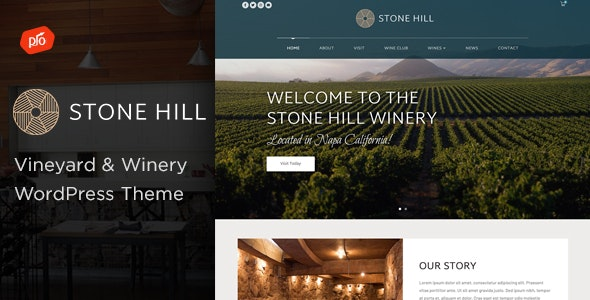 Stone Hill - Vineyard and Winery Theme - Restaurants & Cafes Entertainment