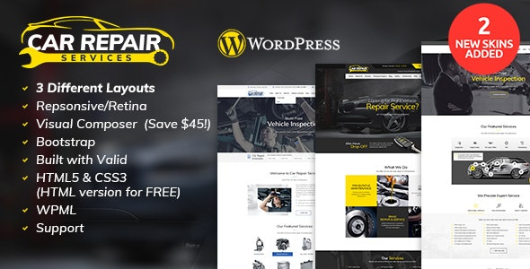 Auto Repair Services >> Car Repair Services Auto Mechanic Wordpress Theme By