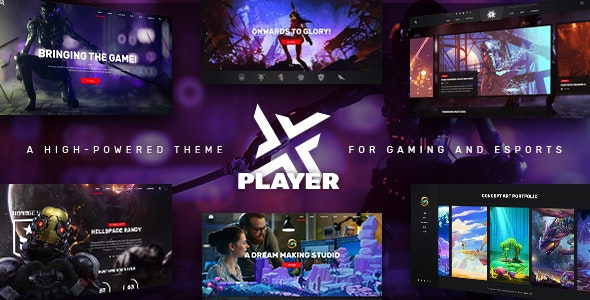 PlayerX - A High-powered Theme for Gaming and eSports by Edge-Themes