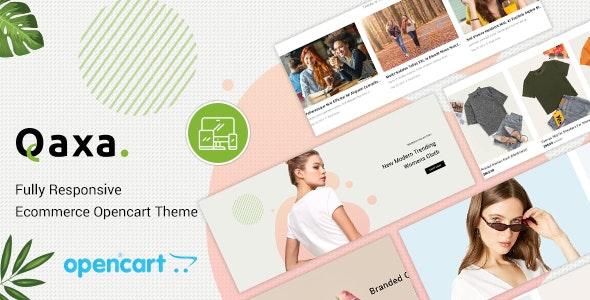Qaxa - Responsive Fashion OpenCart 3 Theme - Fashion OpenCart