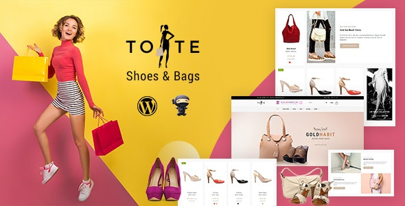 Tote - WordPress Woo Commerce - eCommerce WordPress