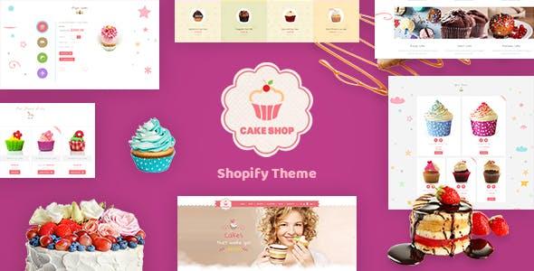 Cake Shop - Bakery Shopify Theme