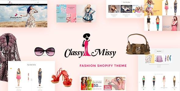 Classy Missy - Fashion Shop Shopify Store