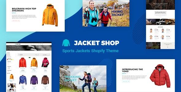 Jacket - Sports Apparel Shopify Theme - Miscellaneous Shopify