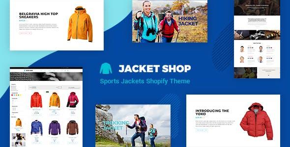 Jacket - Sports Apparel Shopify Theme