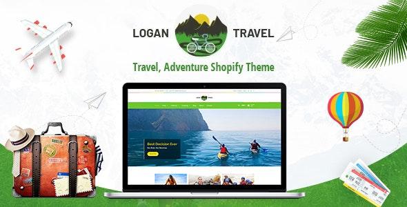 Logan - Adventure, Travel Store Shopify Theme - Entertainment Shopify