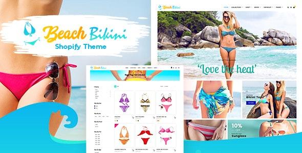 Bikini - Shopify Fashion Lingerie Store Theme - Entertainment Shopify