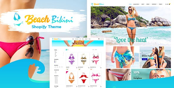 Bikini - Shopify Fashion Lingerie Store Theme
