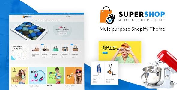 Super Shopify | Multipurpose Theme - Miscellaneous Shopify