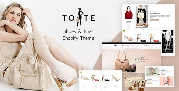 Tote | Bags & Shoes Shop Shopify Theme - Miscellaneous Shopify