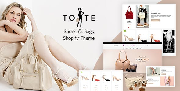Tote | Bags & Shoes Shop Shopify Theme