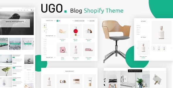 Ugo - Blog Shopify Theme - Health & Beauty Shopify