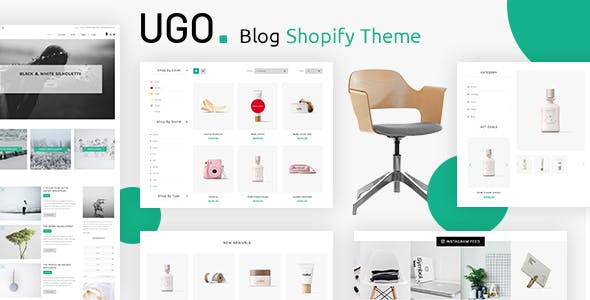 Ugo - Blog Shopify Theme